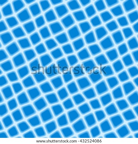 Seamless texture pattern with blue rugged tiles - stock vector