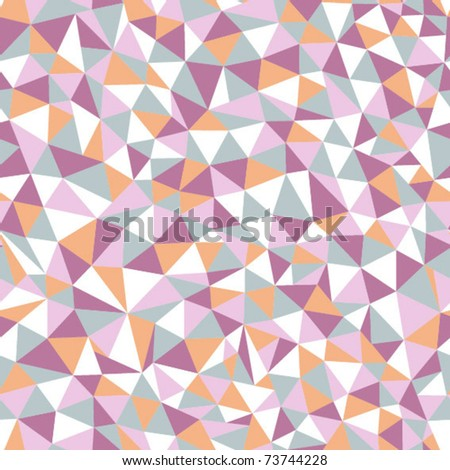 seamless texture with triangles - stock vector