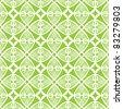 Seamless tile printing - stock vector