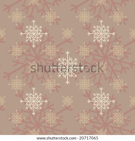 Seamless tileable winter pattern
