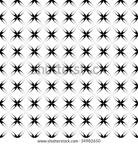 Seamless transparent crisscross pattern. Vector. - stock vector