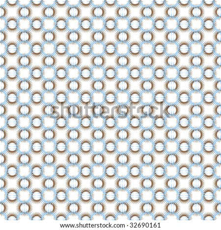 Seamless transparent pattern. Vector. - stock vector