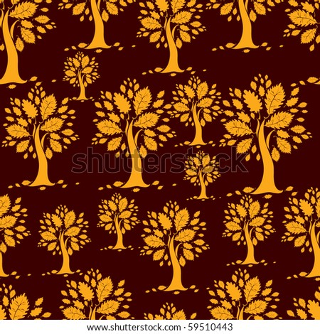 "Seamless vector autumn pattern. Thanksgiving (from my big ""Seamless collection"")"