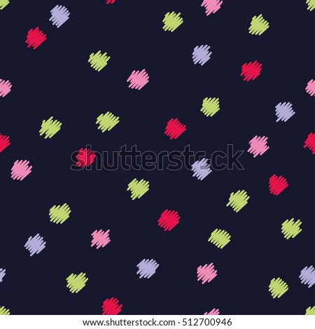 Dress shirt with polka dots stock images royalty free images seamless vector decorative background with polka dots print cloth design wallpaper voltagebd Image collections