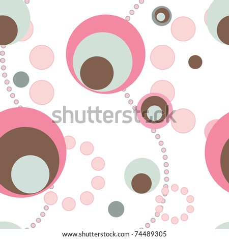 Seamless vector pattern. Abstract background.