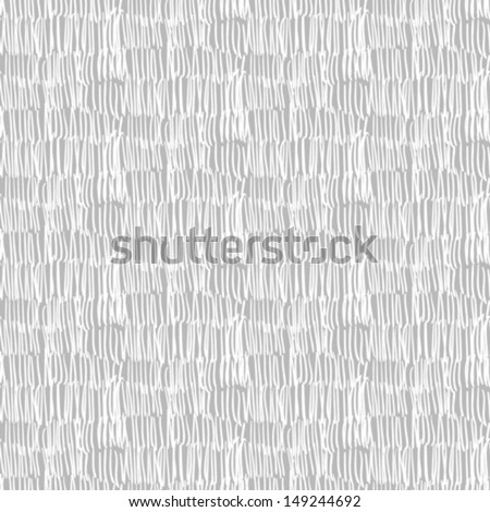 Seamless vector pattern with brushed vertical thin lines in grey and white color. Texture for web, print, wallpaper, summer spring fashion textile, fabric design, website background in hipster style - stock vector