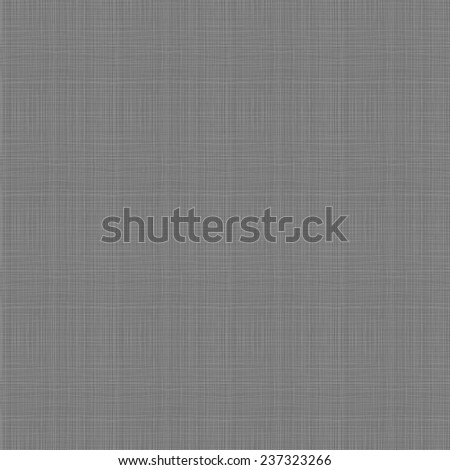 Seamless vector textile fabric canvas pattern or texture. Hand-drawn. - stock vector