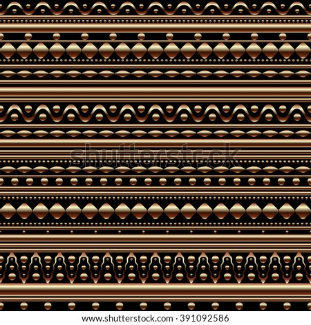 Seamless vector texture pattern. Vector stripes pattern. Vintage ethnic seamless backdrop.