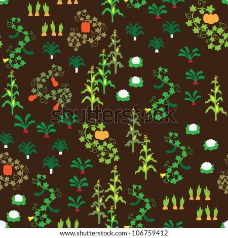 Vegetable Garden Stock Vectors Images Vector Art Shutterstock