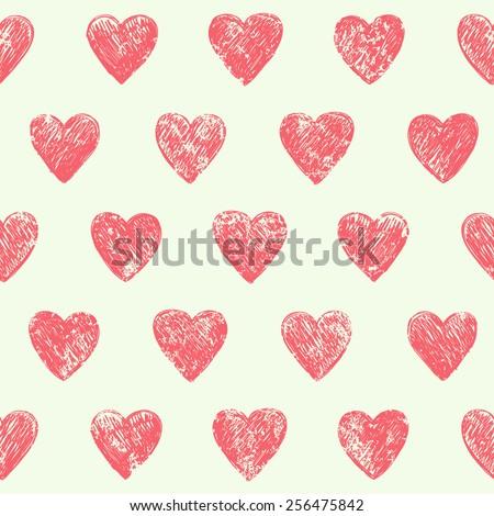 Vintage Heart Background Vintage Heart Stock Im...
