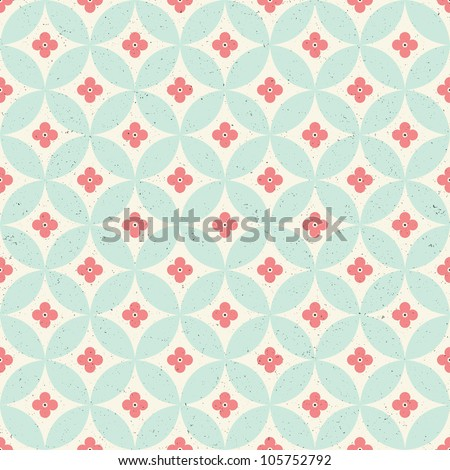 Seamless vintage pattern. Eps 10 - stock vector
