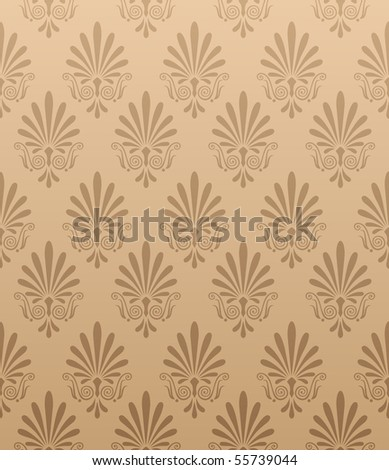 Seamless wallpaper background - stock vector