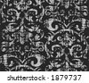 Seamless wallpaper pattern - vector - stock vector