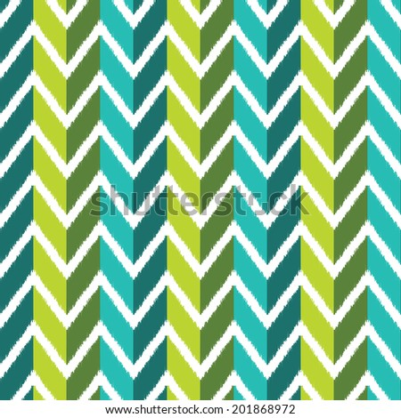 seamless wave pattern - stock vector