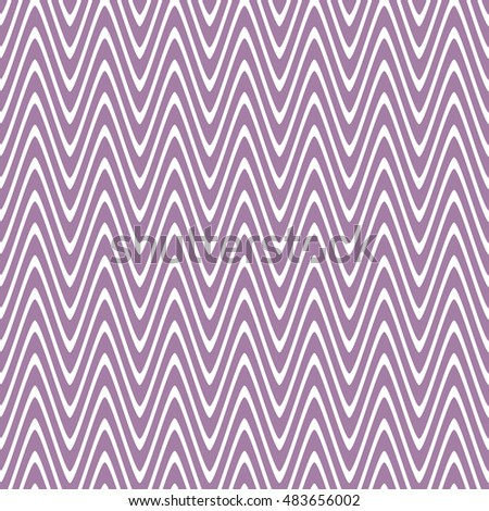 Seamless wavy lines pattern. Vector repeating texture.