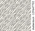 Seamless wavy pattern. Repeating vector texture. Stylish wavy background - stock vector