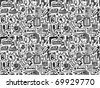 seamless web element pattern - stock vector