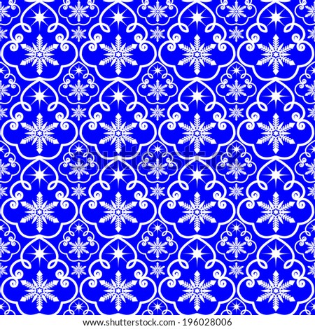 seamless indian pattern royal blue stock vector 52611997 Pretty Repeating Pattern Repeating Poly Pattern Vector