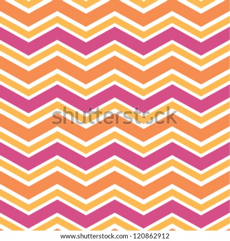 Seamless wide chevron background pattern