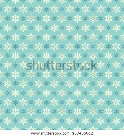 seamless winter pattern - stock vector