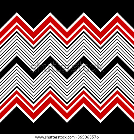 Seamless ZigZag Pattern. Abstract  Chevron Background. Vector Regular Texture