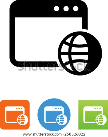 Search engine optimization symbol for download. Vector icons for video, mobile apps, Web sites and print projects.  - stock vector
