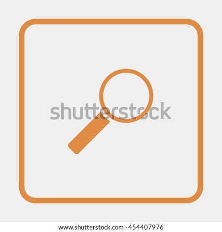Search Icon. - stock vector