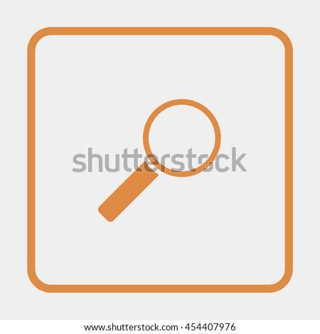 Search Icon. - stock vector