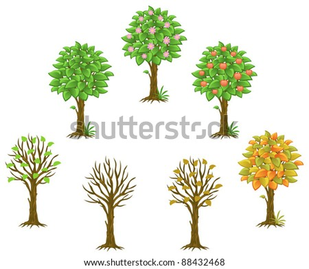Season - stock vector