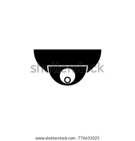 Security Camera Icon Cyber Security Icon Stock Vector 776631025