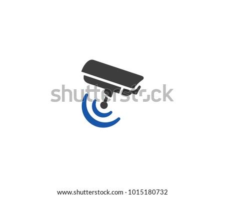 Security Camera Logo Template Cctv Camera Stock Photo Photo Vector