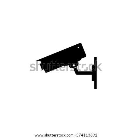 Security Camera Sign Icon Vector Illustration Stock Vector Hd