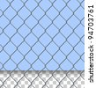 Security Fence Pattern - stock photo