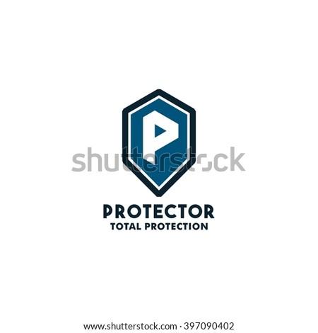 Security Logo Symbol Design Template Letter Stock Vector 397090402