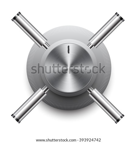 Security safe - stock vector