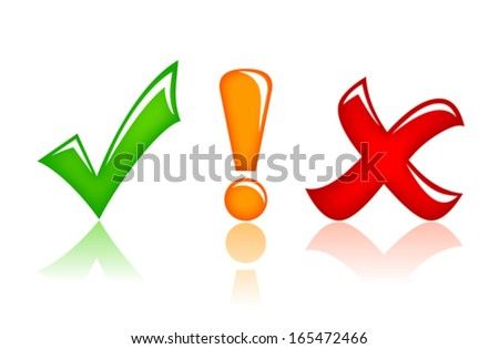 Security shapes - stock vector