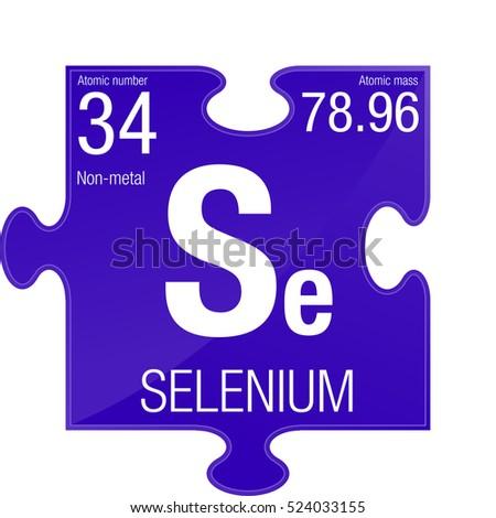 Selenium symbol element number 34 periodic stock vector 524033155 selenium symbol element number 34 of the periodic table of the elements chemistry urtaz Images