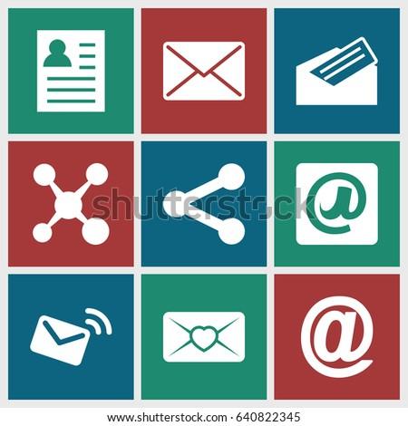 Send Icons Set Set 9 Send Stock Vector 640822345 - Shutterstock