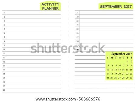 calendar scheduling template