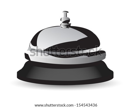 service bell icon - stock vector