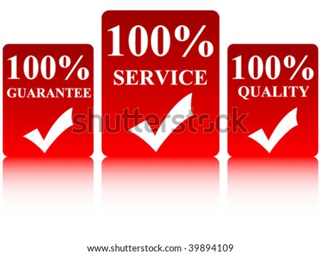 Service quality guarantee cards