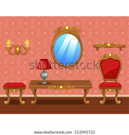 amusing nice living room stock photography image 18909472   Cartoon Bedroom Stock Images, Royalty-Free Images ...