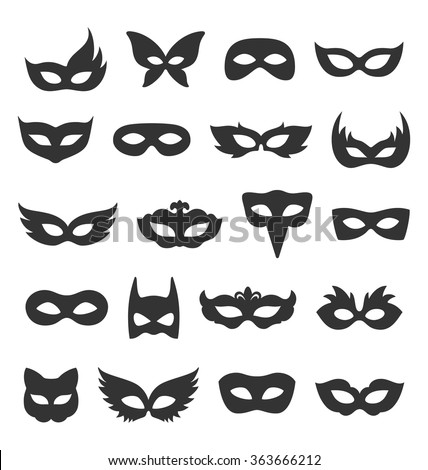 Masquerade Mask Stock Images RoyaltyFree Images  Vectors