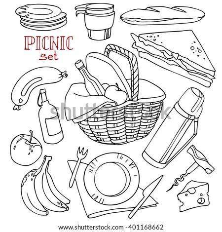 Picnic Napkins Clipart