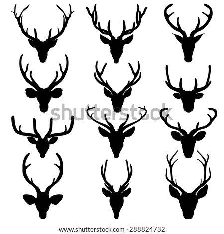 Tattoo Sexy Bodyroses Tattooblack together with Baby Deer Silhouette additionally Whitetail Buck Antlers besides Tattoo Gallery By Samuel Gould moreover Deer Head Silhouette Clipart. on deer head stencils printable