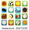 Set of a sport icons - stock vector