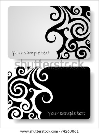 set of Abstract background for design - stock vector