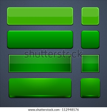 Green button stock images royalty free images vectors - Green button ...