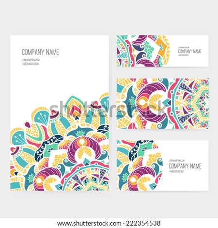 business save the date templates free - set business card invitation card templates stock vector