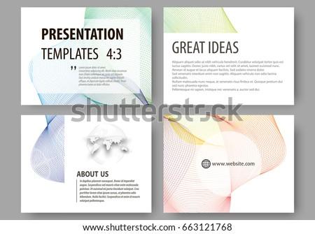 templates for presentation